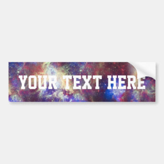 Galaxy Nebula Personalized Astronomy Space Bumper Sticker