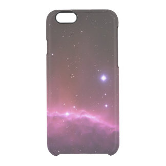 Galaxy nebula photo space and stars geek hipster clear iPhone 6/6S case