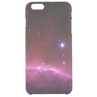 Galaxy nebula photo space and stars geek hipster clear iPhone 6 plus case