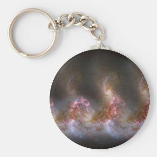 Galaxy Nebula Print Key Ring