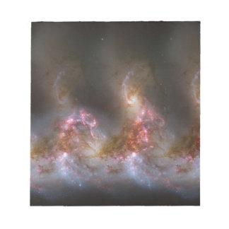 Galaxy Nebula Print Notepad
