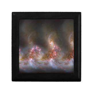 Galaxy Nebula Print Small Square Gift Box