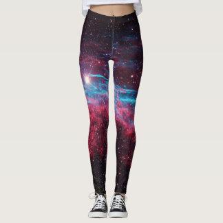 Galaxy Nebula Stars Leggings