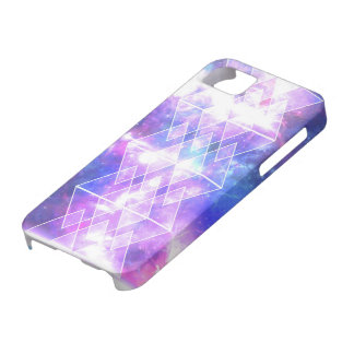 galaxy nebula stars TRIANGLES X DIAMONDS Barely There iPhone 5 Case