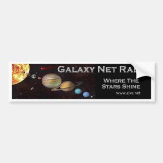 Galaxy Net Radio Car Bumper Sticker