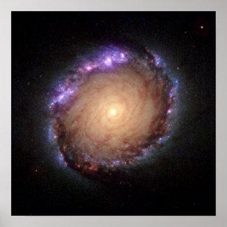 Galaxy NGC 1512 Poster