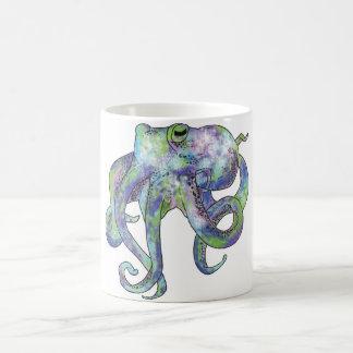 Galaxy Octopus Coffee Mug
