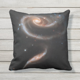 Galaxy Outer Space Nebula Outdoor Cushion