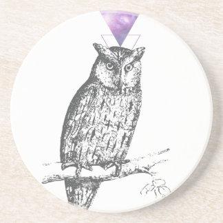 Galaxy owl 1 coaster