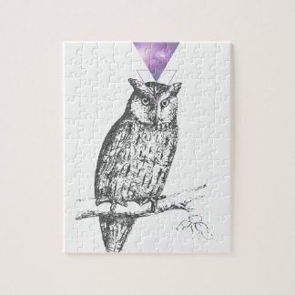 Galaxy owl 1 jigsaw puzzle