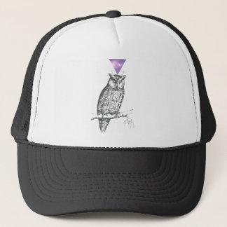 Galaxy owl 1 trucker hat