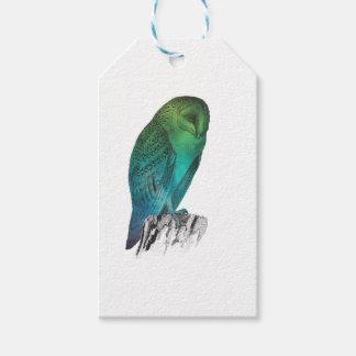 Galaxy owl 2 gift tags