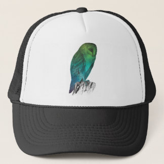 Galaxy owl 2 trucker hat