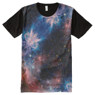 Galaxy Pattern All-Over Print T-Shirt