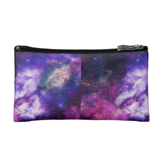 Galaxy Pencil case purple