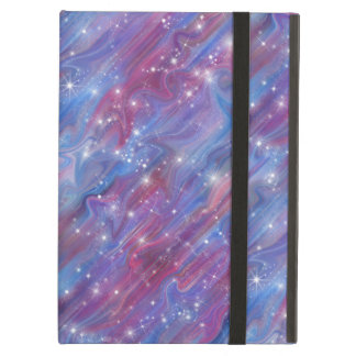Galaxy pink beautiful night starry sky image case for iPad air