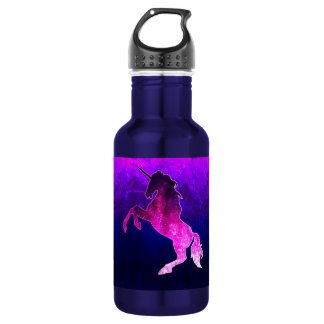 Galaxy pink beautiful unicorn sparkly image 532 ml water bottle
