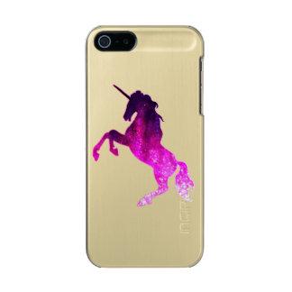 Galaxy pink beautiful unicorn sparkly image incipio feather® shine iPhone 5 case