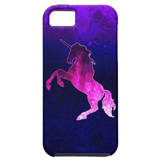 Galaxy pink beautiful unicorn sparkly image tough iPhone 5 case