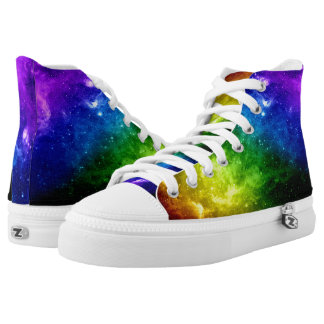 Galaxy Pride Rainbow LGBT High Tops