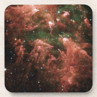 Galaxy Print Beverage Coasters