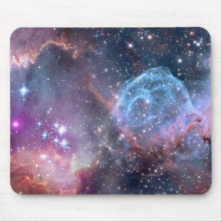 Galaxy print mousepad