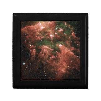 Galaxy Print Small Square Gift Box