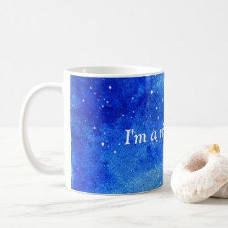 Galaxy printed coffee mug