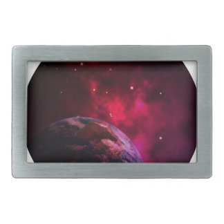 Galaxy Purple 1 - purple Gláxia Belt Buckles