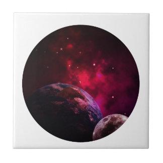 Galaxy Purple 1 - purple Gláxia Ceramic Tile