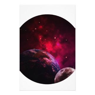 Galaxy Purple 1 - purple Gláxia Stationery