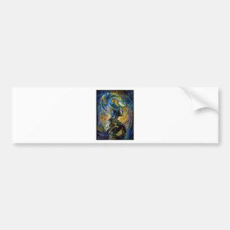 Galaxy Queen Bumper Sticker