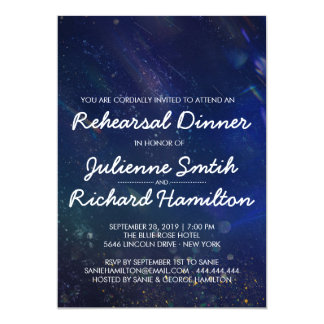 Galaxy Rehearsal Dinner | Written in the Star Card
