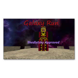 Galaxy Run Magnetic Business Cards