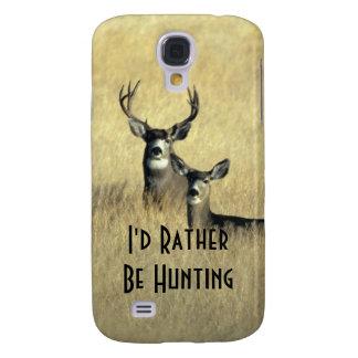 Galaxy S4 Masculine White Tail Mule Deer Buck Doe Samsung Galaxy S4 Case