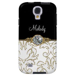 Galaxy S4 Monogram Jewel Cases Galaxy S4 Case