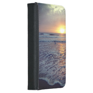 Galaxy S5 Wallet Case Ocean Sunrise