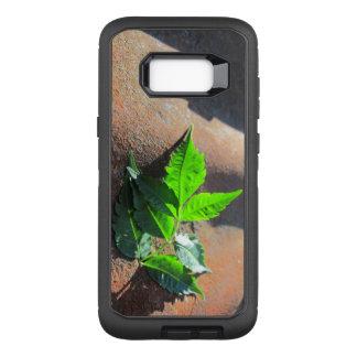Galaxy S8+ Leaf on Tin OtterBox Defender Samsung Galaxy S8+ Case