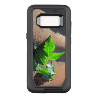 Galaxy S8 Leaf on Tin OtterBox Defender Samsung Galaxy S8 Case
