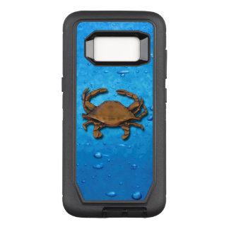 Galaxy S8 OtterBox Defender Copper Crab on Bubbles OtterBox Defender Samsung Galaxy S8 Case