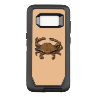 Galaxy S8 OtterBox Defender Copper Crab on Cream OtterBox Defender Samsung Galaxy S8 Case