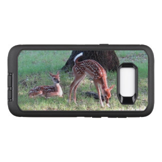 Galaxy S8 Plus Baby Deer 2017 - Good Morning OtterBox Defender Samsung Galaxy S8+ Case