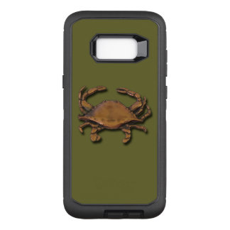 Galaxy S8 Plus Copper Crab on Green OtterBox Defender Samsung Galaxy S8+ Case
