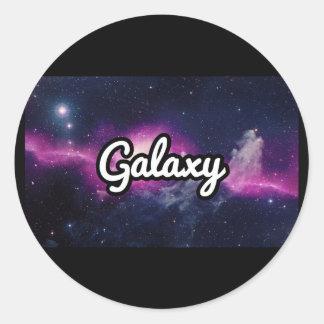 Galaxy Scooters Classic Round Sticker