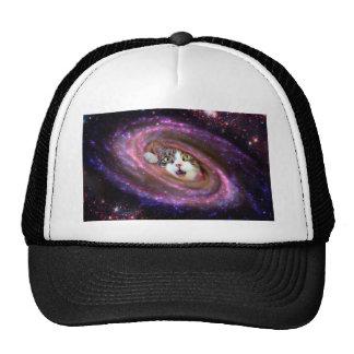 Galaxy Space Cats LOL Trucker Hat