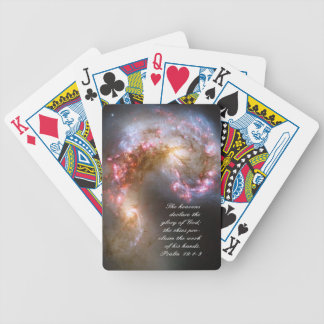 Galaxy Spacial Scripture Creation Bicycle Playing Cards