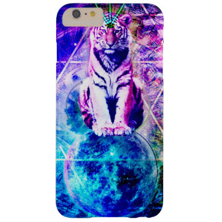 Galaxy tiger - pink tiger - 3d tiger - laser tiger barely there iPhone 6 plus case