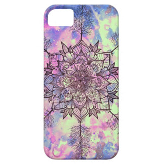 Galaxy Tree Mandala Barely There iPhone 5 Case