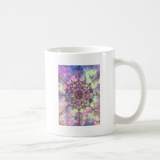 Galaxy Tree Mandala Coffee Mug