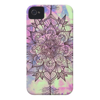 Galaxy Tree Mandala iPhone 4 Covers